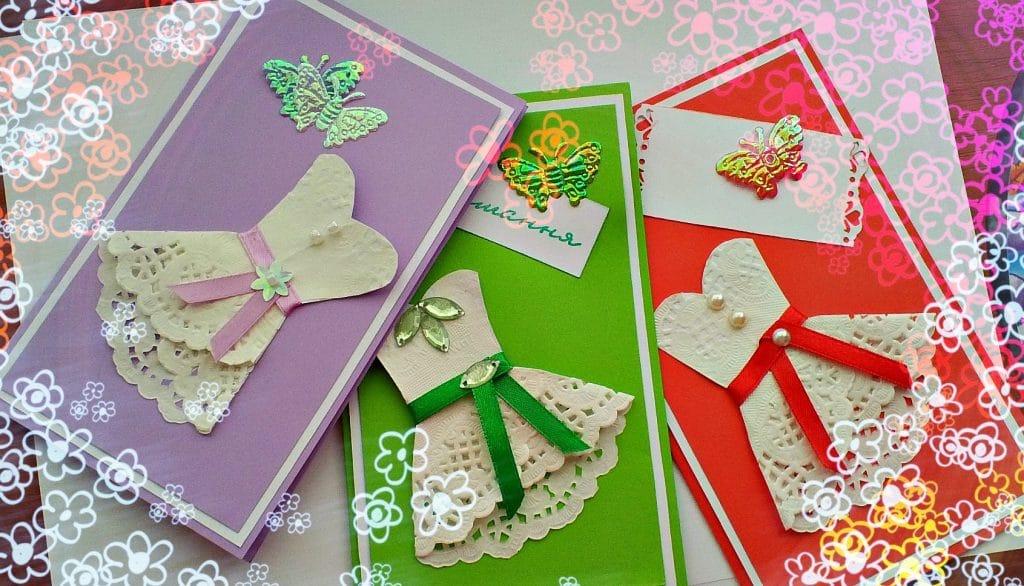 Сделанные своими руками открытки на день рождения