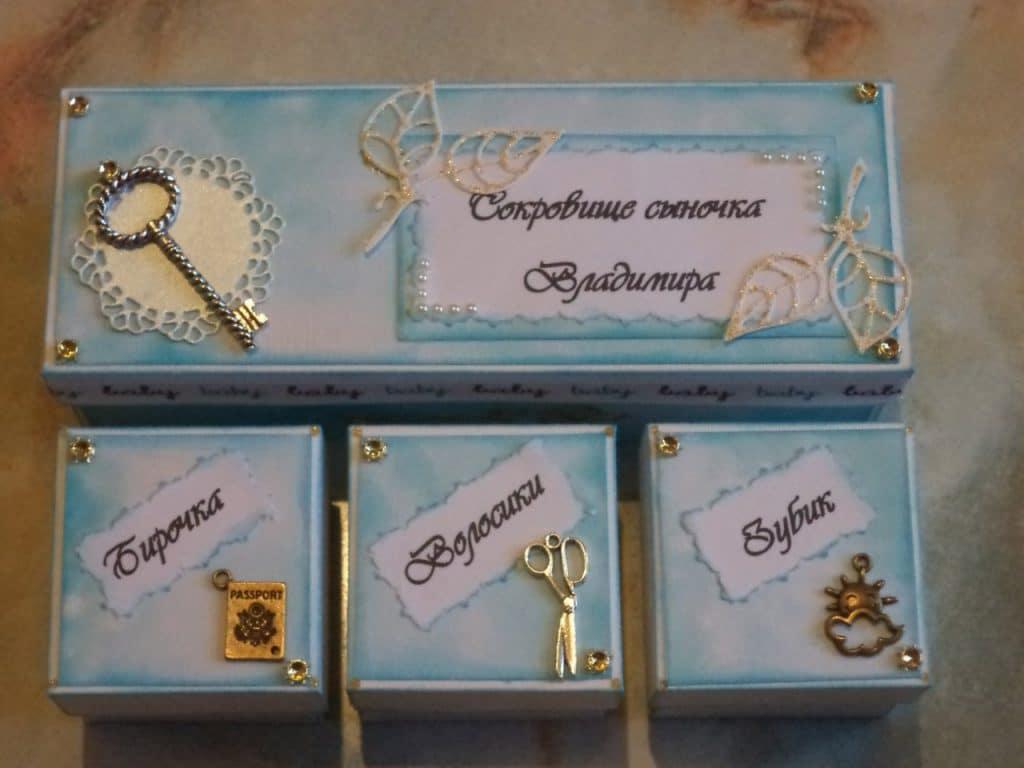 Подарок своей маме своими руками с коробкой