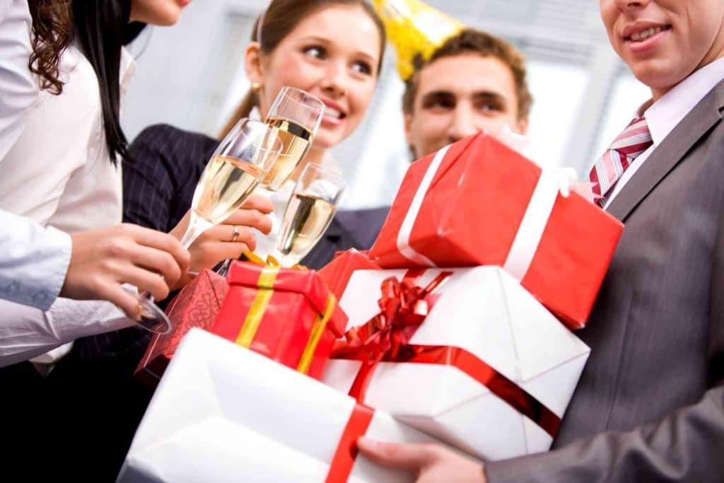 Подарки для партнеров по бизнесу на новый год