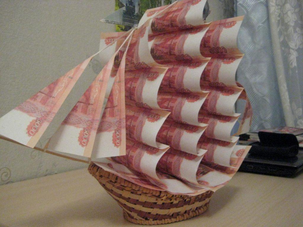 как оригинально подарить деньги на свадьбу молодоженам