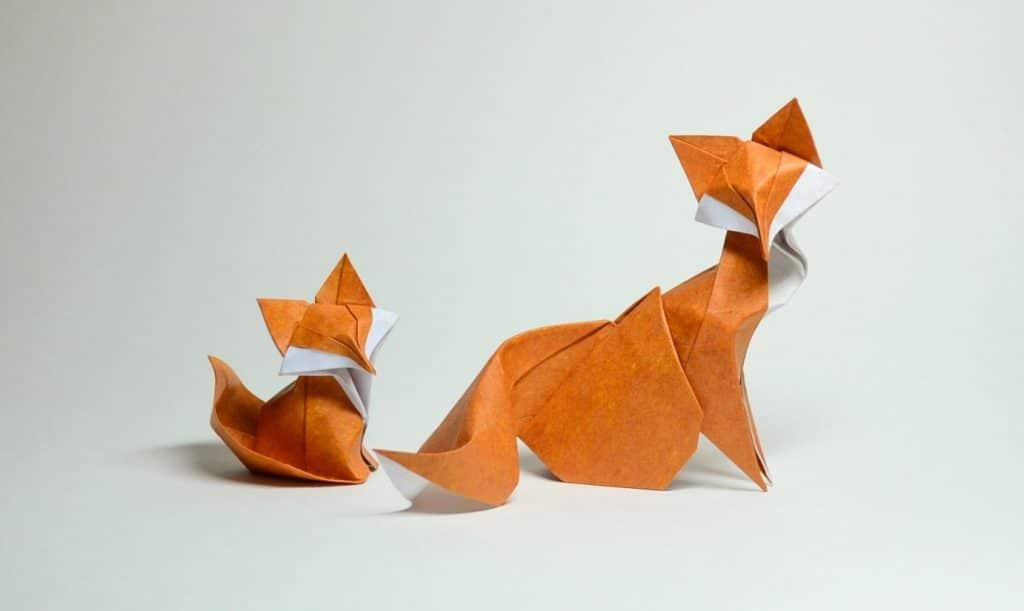 Особенности техники оригами