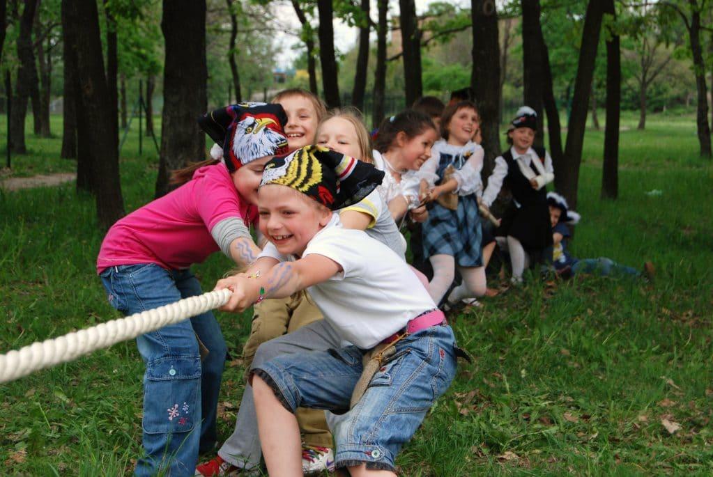 Детские квесты на воздухе