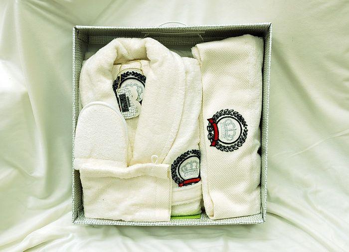 Мужской халат с тапками