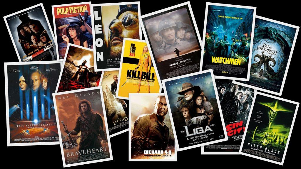 Коллекция старых фильмов