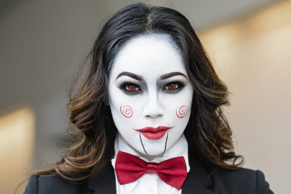 92feea207bb Костюм куклы на хэллоуин - макияж и грим для образа куклы