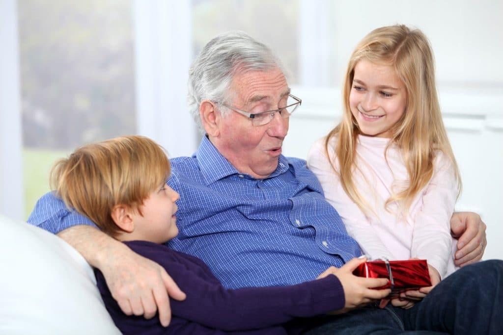 Подарок на новый год от внуков