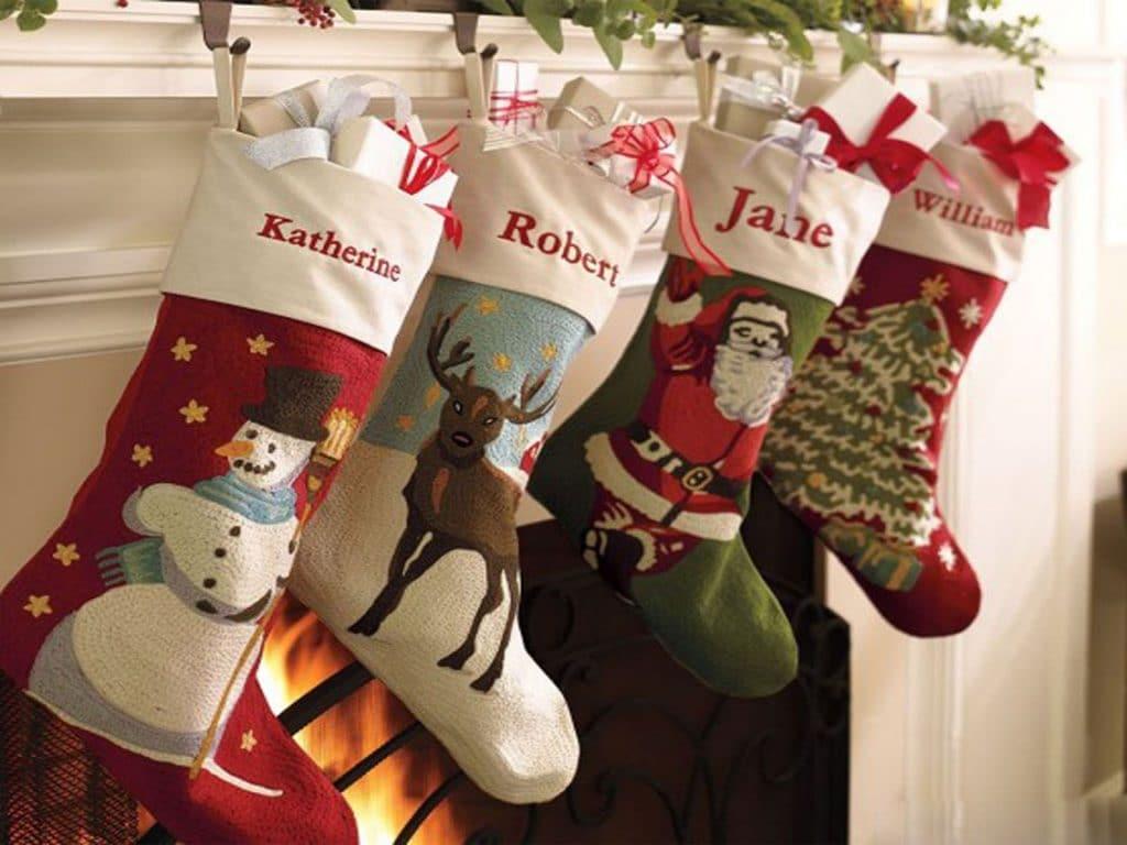 Новогодние сапожки для подарков своими руками фото 875