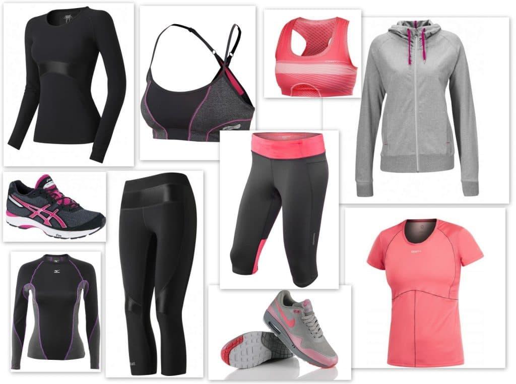 Виды одежды для подарка спортивной девушке